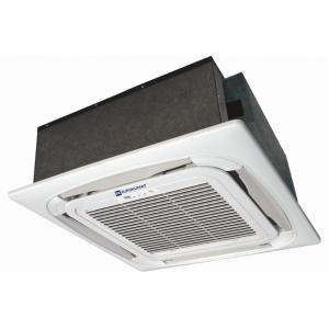 China Ultra thin Chilled Water 4 Way Air Flow Cassette Fan Coil Unit Wide Angle on sale