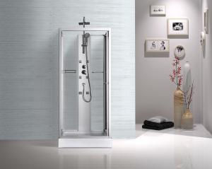 China Professional Bathroom Shower Cabins , Sliding Glass Door Shower Enclosure on sale
