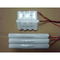 Emergency Lighting NicAd Battery Packs C2500 4.8V , 2500mAh Battery Pack