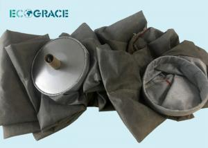 China PTFE  Fiberglass Filter Bags Silicon Furnace Dust Collector Filter System on sale