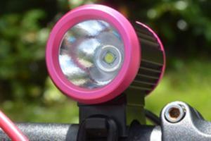 China Aluminum alloy 10 Watt Rechargeable LED Bike Lights , 1200 lumen bicycle light on sale