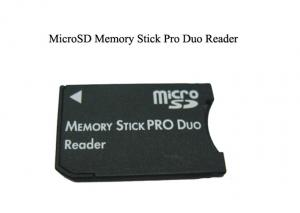 China MMC Flash Memory Card Micro SD Stick Pro Duo Card Reader for Sony PSP or Digital Cameras on sale