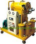 単段の真空の変圧器オイルのろ過植物、小さい変圧器の油純化器、絶縁オイルの回復システム