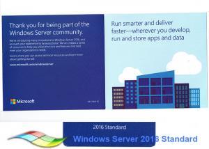 China Full Version  Win Server 2016 Standard  64bit Microsoft Server 2016 R2 on sale