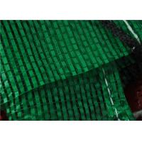 China Security Food Grade PP Mesh Fruit Bags With Plastic Drawstring Sealing And Handle on sale