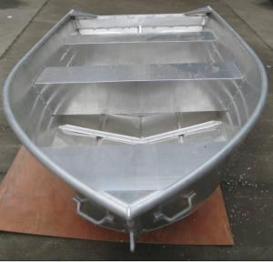 China 14ft pointed head and v bottom aluminum boat on sale