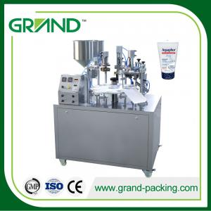 China Easy Operation Semi Automatic Tube Filling And Sealing Machine NF-30 Smooth Cutting on sale