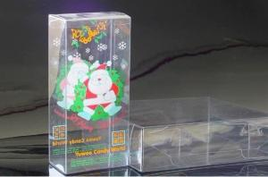 China Customized Waterproof PMS  Transparent PVC  Printed Packing Boxes For Gift on sale