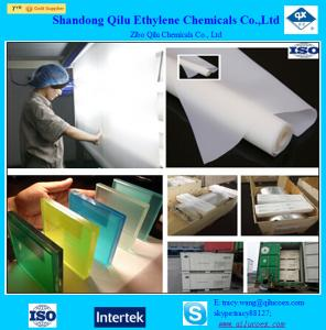 China color pvb film for architectural safety laminated glass with factory with ISO on sale