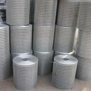 China SS 304 Stainless Steel Welded mesh hole size:1/2inch (12.7mm),diameter:0.7mm-1.6mm on sale