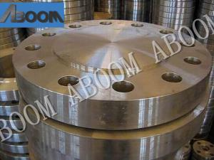 China Easy Welding Duplex Stainless Steel Pipe Flange S32750 2507 / F53 25% Cr on sale