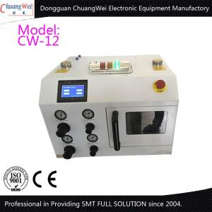 China Liquid Jet Pressure SMT nozzle cleaning machine 12 PCS of Nozzles Per Time on sale