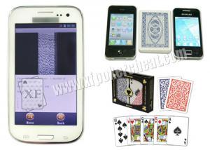 China Analyseur blanc de tisonnier de Samsung Glaxy CVK 350 pour la fraude au jeu de poker de fin de support de prise du Texas on sale