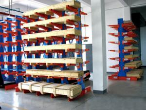 China Industrial Storage Racking System , Structural Steel Cantilever Pipe Racks on sale
