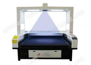 China Sublimation masks cutting, Sublimation Fabric industrial laser cutter , Co2 Laser Engraving Machine 100w on sale