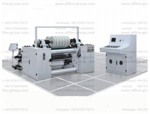 China 400m/m High-speed paper slitting machine and rewinding for 25-120g/m2 cigarette/tipping/label roll paper for package on sale