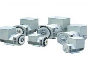 China Brushless Double Bearing 3 Phase Alternator 91kw / 114kva 1500rpm/ 1800rpm on sale