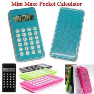 China Mini Maze Pocket Calculator on sale
