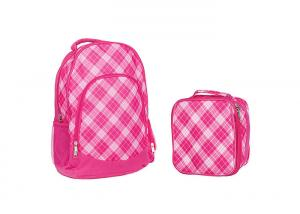 China 600D Polyester Custom Drawstring Backpack Padded Shoulder Strapes Water Resistant on sale