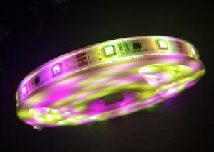 China Commercial  RGB Flexible LED Strip Remote Control Color Changing LED Strip on sale