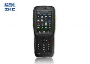 China Rugged Industrial Handheld PDA Android QR Code Scanner With WIFI 3G Bluetooth on sale