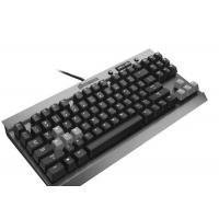 High End Slim Blue Led Mechanical Gaming Keyboard Humanized Design