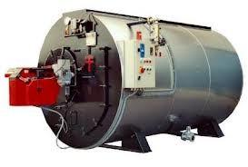 China PLC control Auto blowdown High efficiency steam boiler with alarm system on sale