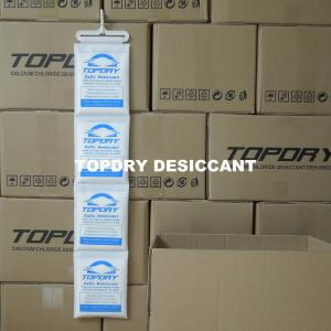 China Paper Packed Cobalt Chloride Free Calcium Chloride Container Desiccant on sale