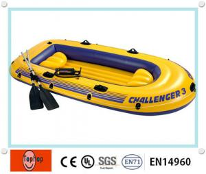 China 12 Person Safety Inflatable Fishing Boat , Inflatable Sports Boat For Kids / Adults on sale