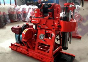 China 230m Hydraulic Tractor Mounted Water Well Drilling Rig on sale