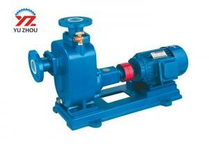 China Non Clogging Centrifugal Water Pump , Horizontal Type Sewage Transfer Pump on sale