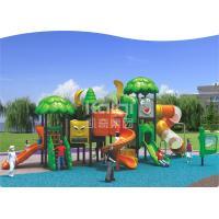 Kids Games Play Systems Playground Equipment , Backyard Playground Sets 30-50 Capacity