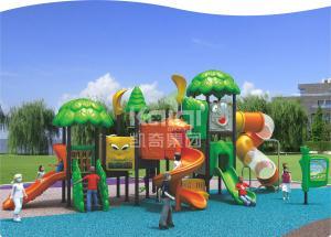 China Kids Games Play Systems Playground Equipment , Backyard Playground Sets 30-50 Capacity on sale