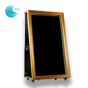 China Quality indoor hot selfie sale magic digital mirror me photo booth case kiosk on sale