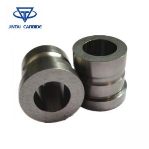 China Yg8 Carbide Pulley Yg15 Tungsten Carbide Wire Guide Roll And Carbide Straightening Rollers on sale