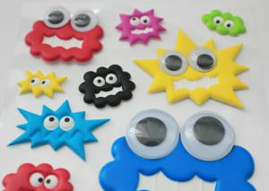 DIY Customized Removable Layered Stickers / Funny farm animal