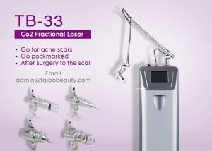 China 0.1mm Spot Size Continuous Work Mode Erase Unwanted Brown Spots Co2 Laser Fractional Machine on sale