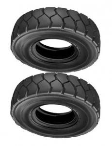 China 11.00-20 Solid Rubber Forklift Tires For Agricultural Tyres / Tractors on sale
