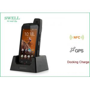 China uhf rfid reader 5 Android 6.0 4G LTE Rugged Outdoor SmartPhone MT6755 Oct - core DDR4GB + 64GB on sale