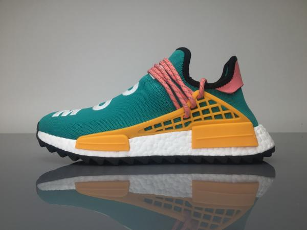 36829c7a2 Adidas NMD Pharrell Williams Human Race Sun Glow Real boost shoe from China  Images