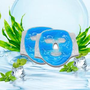 China High Quality Freeze Cool Sleeping Gel Facial Mask /Cooling Ice Masks Reusable Ice Cooling Gel Face Mask on sale