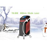 Clinic 808nm Diode Laser Hair Removal Machine 1 - 10Hz Adjustable Italy Pump 12 Germany Bars