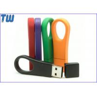 China Metal Colorful Big Ring 8GB Usb Flash Drives with Free Custom Logo on sale