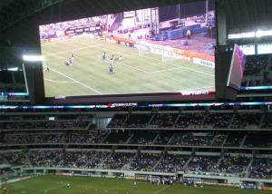 China High Definition Electronic Stadium LED Display 8mm Pixel Pitch For Sport Advertising on sale