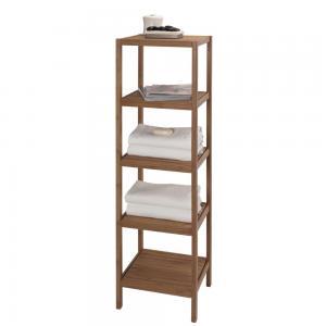 China modern wood bathroom storage shelving on sale