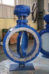 China Double Eccentric Bi-Directional Metal Seated Butterfly Valve (D343H) on sale