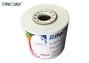China Waterproof Quality Semi Gloss Dry Photo Paper For Epson SureLab Printer on sale