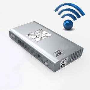 China Multimedia DLP Micro LED Projector 720p HD Portable TF card USB on sale