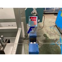 China Auto Powder Feeding 150kg/H 16mm Plastic PE Pipe Extrusion Line on sale
