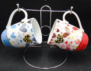 China Handle Mug for Cone Shape on sale